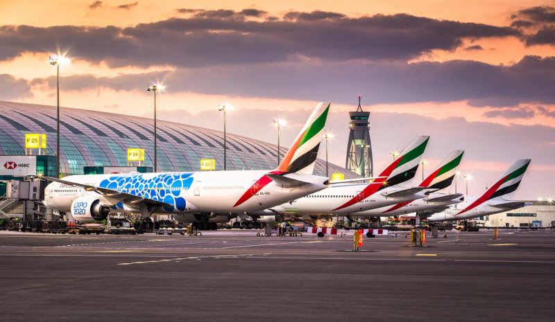 Emirates adds Cairo, Tunis, Glasgow and Malé, bringing network to over 50 cities in July
